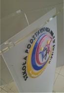 Logo 3D z Pleksi